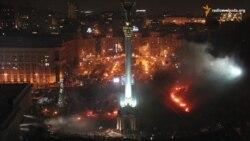 Як виглядав Майдан Незалежності протягом 2014 року