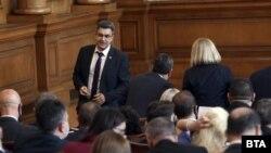 Пламен Николов во бугарскиот парламент