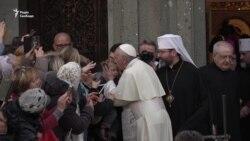 Починаю і закінчую день з Україною – папа Франциск на зустрічі у Римі (відео)