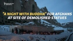 'A Night With Buddha' For Afghans At Site Of Demolished Statues