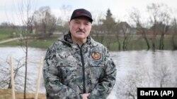 Aleksandr Lukașenka, aprilie 2021