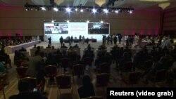 مراسم افتتاحیه مذاکرات میان افغان ها در دوحه
