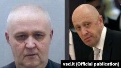 Снимката от паспорта на човека, влязъл в Литва под името Евгений Пригожин, и истинският Пригожин