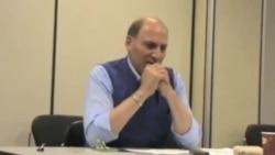 بحث آزادی و جامعه مدنی با رامین جهانبگلو در تورنتو