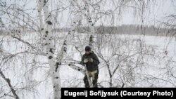 Алексей Дудоладов записывает обращение к губернатору