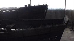 У Запоріжжі віднайшли оригінальний метод реставрації старовинних човнів (відео)
