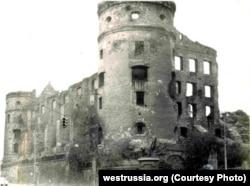Королевский замок перед сносом