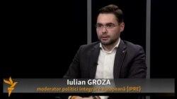 """Iulian Groza: """"Cel mai mult mă îngrijorează lipsa unei voinţe politice clare de a pune în aplicare reforme concrete"""""""