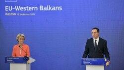 Presidentja e KE-së e shqetësuar për situatën në veri