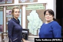 Оксана Киселева и Оксана Селиверстова