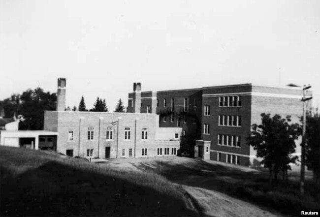 Një shkollë rezidenciale në Kanada, 1947.