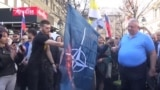 У Сербії ультраправі націоналісти виступили проти НАТО й закликали Росію