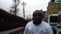 Студенты из Руанды против Олега Шеина.