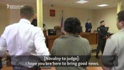 Kremlin Critic Navalny Found Guilty In Retrial