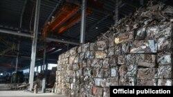 «Металл-Кен» жоопкерчилиги чектелген коомунун металл буюмдарын өндүргөн жана кайра иштеткен заводу.
