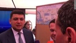 Премьер Украины на трассе Одесса-Рени