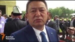 Турсунбеков: Атамбаев шайлоого катышпайт