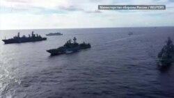 Масштабные учения ВМФ России в Тихом океане (видео)