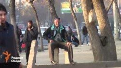"""Один день на """"рынке мардикоров"""" в Душанбе"""
