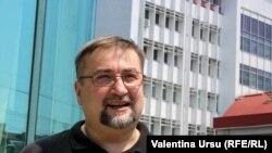Deputatul PAS, istoricul Virgil Pâslariuc, Chiținău, 14 iulie 2021.