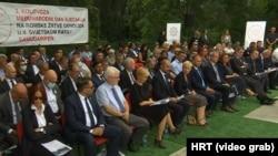 S obilježavanja Međunarodnog dana sjećanja na romske žrtve genocida u Drugom svjetskom ratu, Romski memorijalni centar Uštica (2. kolovoza 2021.)