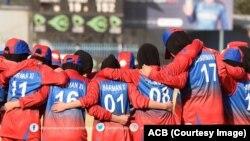 Крикеттен ауған әйелдер құрамасы.