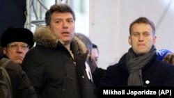 Борис Немцов ва Алексей Навальний, Москва, 2011 йилнинг 24 декабри