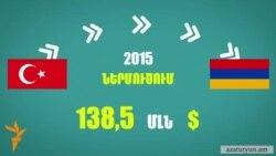 Ուսումնասիրվում են Թուրքիայից Հայաստան ներմուծման արգելքի հնարավոր սցենարները