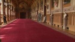 Первый публичный выход сына принца Гарри и Меган Маркл (видео)