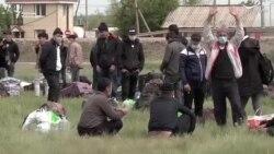 Самарадагы өзбек мигранттары үйүнө кайтышты