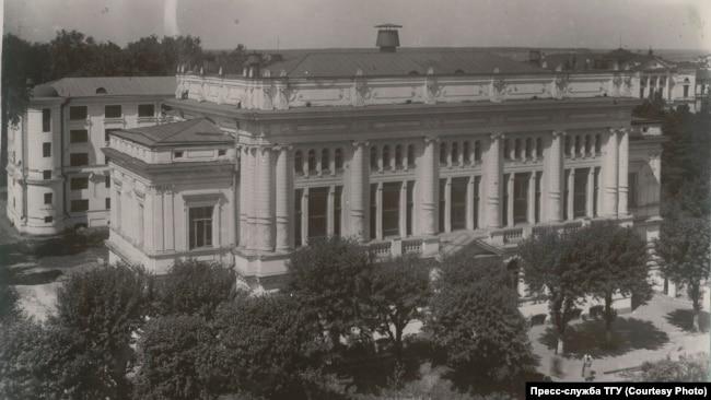 Научная бибилиотека ТГУ. 1950-е гг.