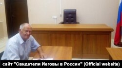 Владимир Филиппов в зале суда