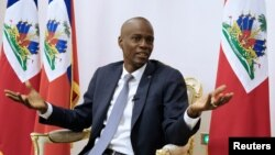 Гаитинин президенти Жовенель Моиз.