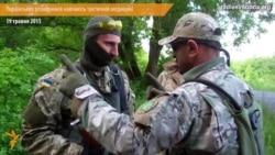 Українських розвідників навчають тактичній медицині перед відправленням в АТО