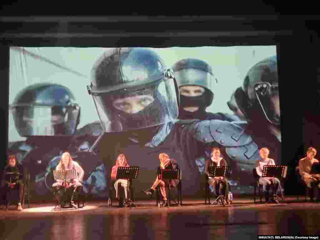 Grupul Viasna pentru drepturile omului a arătat că cele mai multe arestări au fost făcute la Minsk, unde forțele de securitate au folosit gaze lacrimogene, gloanțe de cauciuc și grenade asomatoare pentru a dispersa zecile de mii de demonstranți care au ieșit în stradă în cele peste 6 luni de proteste. (Foto: teatru Constanța)
