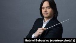 Gabriel Bebeșelea, dirijor principal Filarmonica George Enescu