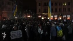 Харків'яни закликали Путіна «піти геть з Криму»