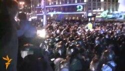 Сутичка навколо мікроавтобуса на Європейській площі