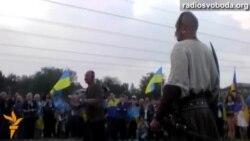До Хортицького полку Запоріжжя ввійшли майстри володіння козацькою зброєю