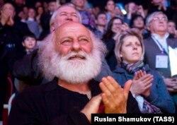 Слава Полунин на открытии Большого Санкт-Петербургского Государственного цирка на Фонтанке, 2015 год