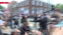 Акция вШарлотсвилле против «белого превосходства»
