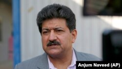 Pakistani journalist Hamid Mir on June 1.