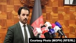 وحید مجروح سرپرست وزارت صحت عامه افغانستان