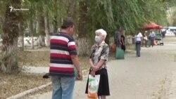 Армянск после эвакуации (видео)