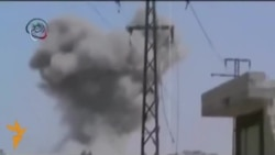 Amateur Video Appears To Show Shelling In Damascus