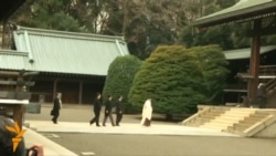 Japanese Prime Minister Visits Controversial War Shrine