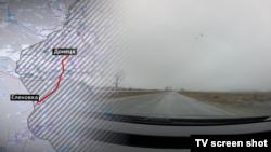 Дорога до окупованої Оленівки