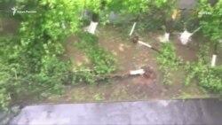 В Москве 11 человек стали жертвами урагана (видео)
