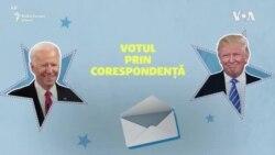 Alegeri SUA: Votul prin corespondență