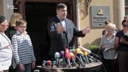 Саакашвілі: адвокат звернувся в міграційну службу у Львові з проханням про захист (відео)